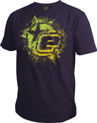 Eclipse Mens Fusion T-Shirt Purple M