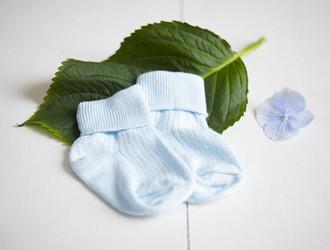 Baby Boy Rosebud Socks