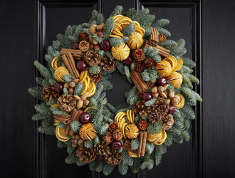 'Joy To The World' Wreath Making Class