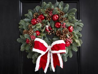 'Santa Baby' Wreath Making Class