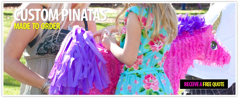 Custom Pinatas