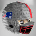 Patriots Football Helmet Pinata