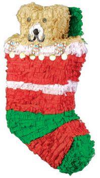 Christmas Pinata.Christmas Stocking Pinata Jumbo 48