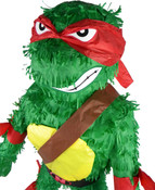 Red Teenage Mutant Ninja Turtle Raphael Pinata