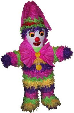 Clown Pinata, Girls Pinata