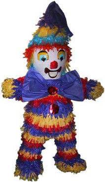Boys Clown Pinata