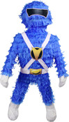 Blue Mighty Morphin Power Ranger Pinata