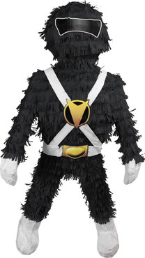 Black Mighty Morphin Power Rangers Pinata
