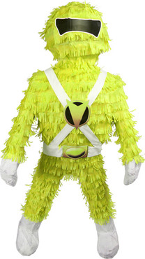 Yellow Mighty Morphin Power Rangers Pinata