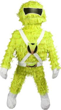 Yellow Mighty Morphin Power Rangers Pinata