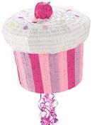 Girl's Cupcake Pinata