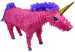 Pink Unicorn Pinata