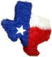 Texas State Pinata Jumbo