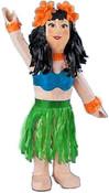 Hula Girl Pinata or Luau Pinata