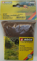 NOCH 07227 Fine Flockage - Dark Brown 20g