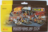 FALLER 180444 Beer Benches & Tables 00/HO
