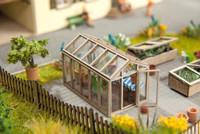 NOCH 14357 Green House - Laser Cut 00/HO