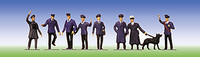 FALLER 151003 Railway Staff 00/HO