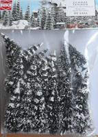 BUSCH 6466 Winter Firs 6cm - 13.5cm (Pack of 20) 00/HO