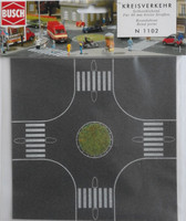 BUSCH 1102 Roundabout (Self Adhesive) 'N' Gauge