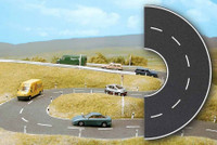 BUSCH 1103 Semi Circle Road 66mm x 190mm 00/HO