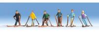 NOCH 15828 Skiers 00/HO Model Figures