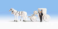 NOCH 16706 Wedding Carriage 00/HO Model Accessories