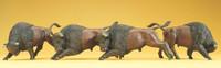 PREISER 20391 Buffalos 00/HO Model Figures