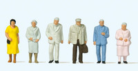 PREISER 14116 Passers-By 00/HO Model Figures