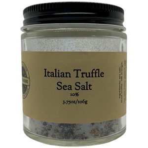 Italian Truffle Sea Salt 10%