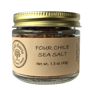 Four Chile Sea Salt | Artisanal Sea Salt Blends