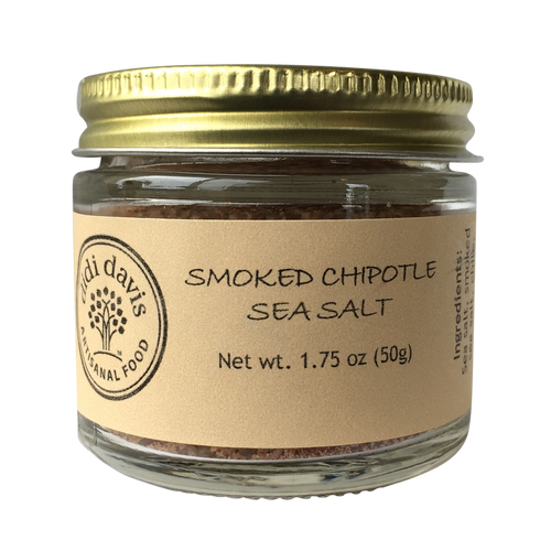 Smoked Chipotle Sea Salt | Artisanal Sea Salt Blend