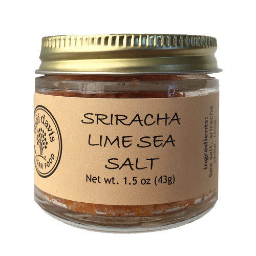 Sriracha Lime Sea Salt | didi davis food | Artisanal Sea Salt Blend