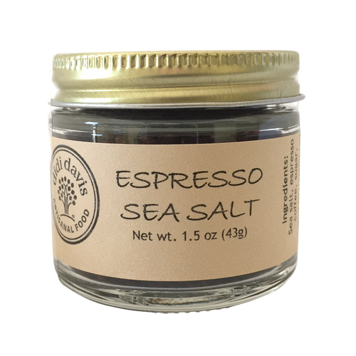 Espresso Sea Salt | Artisanal Sea Salt Blend