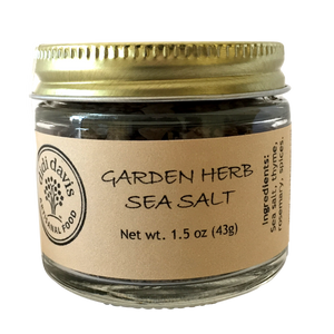 Garden Herb Sea Salt | Artisanal Sea Salt Blend