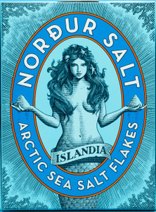 Icelandic Sea Salt - Nordur Actic Sea Salt Flakes