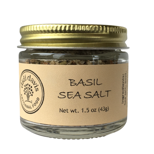 Basil Sea Salt | Artisanal Sea Salt Blend