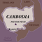 Map of Cambodia with Kampot