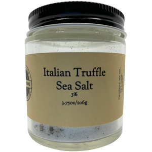 Italian Truffle Sea Salt 3%
