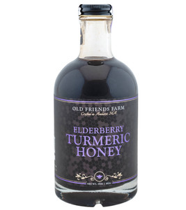 Elderberry Turmeric Honey