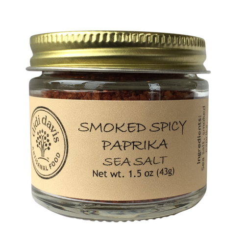 Smoked Spicy Paprika Sea Salt | Artisanal Sea Salt Blend
