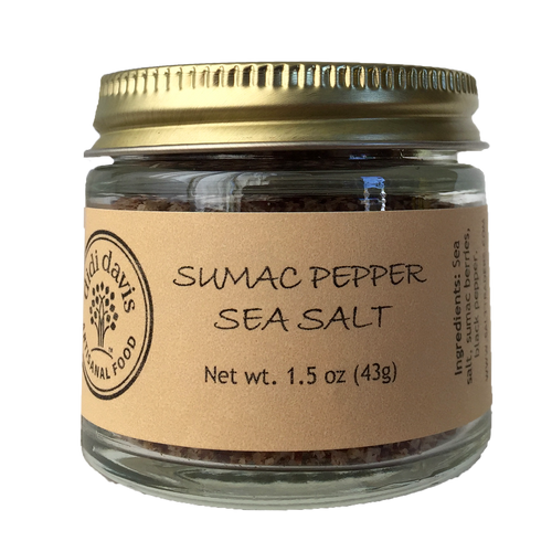 Sumac Pepper Sea Salt | Artisanal Sea Salt Blend
