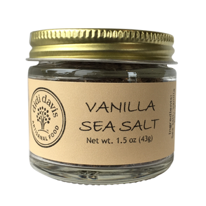Vanilla Salt | didi davis food | Artisanal Sea Salt Blend