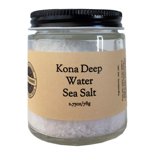 Kona Deep Water Sea Salt Jar