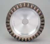 Diamond - Segmented 10° Metal Bond - 140 grit - (D150 H11 J40 T36 W10 X8)