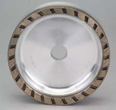 Diamond Wheel - Slotted (D150 H22 T35 W8 X8) - 3M8 - 200 grit