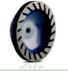 Premium - Resin - Segmented SCA - 500 grit (D150 W15  X10)