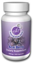 Freeze Dried Acai Berry (500mg / 120 Capsules)