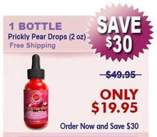 Natural Home Cures Prickly Pear Drops (2 oz)