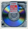 TDK - 230D 230mb Rewritable MO Disk
